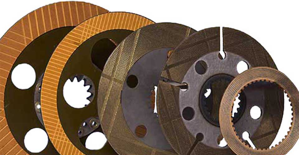 Industrial brake and friction parts